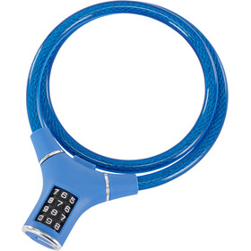 Masterlock 8229 Cable Lock 12mm x 900mm, blue